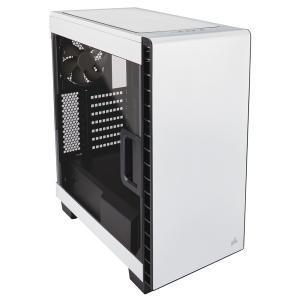 CORSAIR PCケース 優れた拡張性を誇るE-ATX対応ミドルタワーPCケース CC-9011095-WW (400C White) ホワイト
