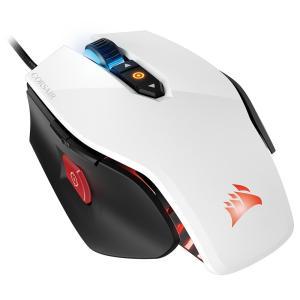 CORSAIR ゲーミングマウス 最大解像度12,000dpiのLEDバックライト搭載FPS特化型マウス CH-9300111-AP (M65 PRO RGB White) ホワイト