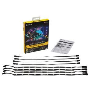 CORSAIR Commander PRO、Lighting Node PRO互換のLEDストリップ RGB LED Lighting PRO Expansion Kit (CL-8930002)|linksdirect