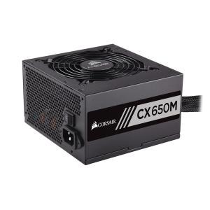 CORSAIR 電源ユニット 80PLUS BRONZE認証取得 1系統650W電源ユニット CX650M CP-9020103-JP|linksdirect