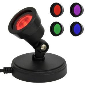 (終息)リンクス USBスポットライト リンクス×HOBBYLightコラボモデル USB型ミニスポットライト HOBBYLIGHT-4-COLORS 4色レンズ同梱(赤、緑、青、紫)|linksdirect