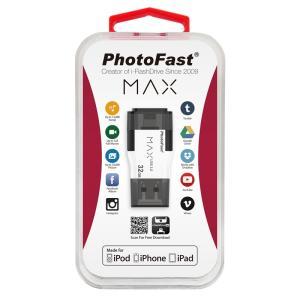 ■在庫発掘9点限り!! ■PhotoFast LightningとUSB3.0インターフェースを備えた次世代型ストレージ i-FlashDrive MAX V1 32GB|linksdirect