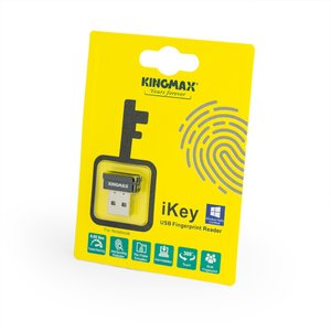 KINGMAX Windows Hello 対応 指紋認証USBリーダー ikey (KMIKEYFP-D1B) linksdirect