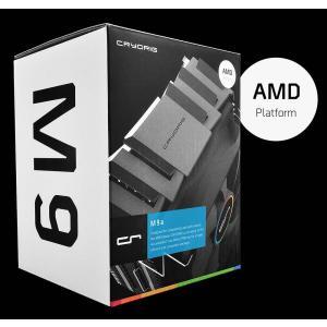 CRYORIG 全高124.6mm サイドフロー型空冷CPUクーラー M9a AMD対応|linksdirect|08