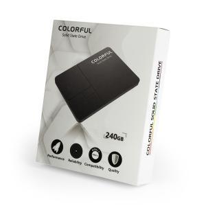 COLORFUL SATA 6Gb/s対応、Silicon Motion製 SM2256搭載2.5インチSSD SL500 240G 容量240GB|linksdirect