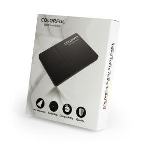 COLORFUL SATA 6Gb/s(SATA3.0)インターフェース対応の2.5インチSSD SL500 256G (MLC + DDR) 容量256GB|linksdirect