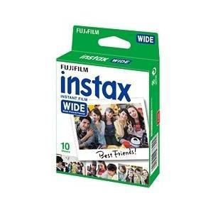 富士フイルム INSTAX WIDE WW 1  ワイド用カラーフィルム instax WIDE 1パック品(10枚入)|linkwood