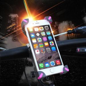 スマホホルダー 自転車 ホルダー バイク iPhone ハンドル取り付け 携帯|linofle
