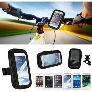 自転車 防水 スマホホルダー バイク アーム スクーター スマホカバー 防塵 ハンドル 取り付け iPhone8 4.7インチ対応