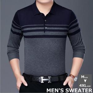 セーター メンズ ビジネス メンズセーター 大きいサイズ 無地 柔軟 防寒着 防寒 防風 保温 ファッション 秋 冬 男性 紳士 通勤 アウトドア|linqiu-741213