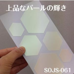 ちょっと障子・ふすまシール亀甲(パール)4シート入|lintec-c|05