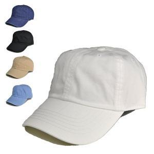 コットン6パネル 無地 キャップ メンズ レディース ローキャップ 野球帽 洗える 帽子 白 ホワイト|lion-do