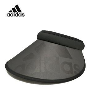アディダス・ビックBOSクリップバイザー 黒 ブラック 日よけ UVカット 紫外線対策 uv スポーツ サンバイザー おすすめ 人気 洗える レディース 帽子|lion-do