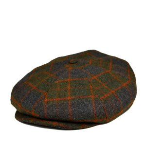 カンゴールハンチング・ツイードリプレイ 秋冬 メンズ レディース おしゃれ 大きいサイズ ゆったり たっぷり チェック柄 送料無料 帽子|lion-do