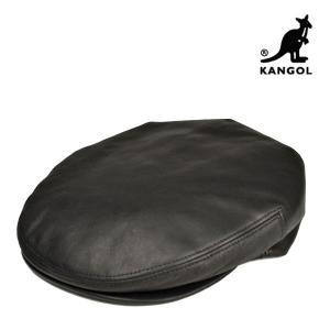 カンゴール・ハンチング・レザーキャップ 秋冬 おしゃれ メンズ レディース 本革 牛革 大きいサイズ ゆったり 帽子|lion-do