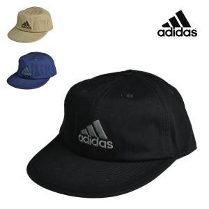 アディダス・洗えるコットンツイルキャップ adidas 綿キャップ 春夏 洗濯 メンズ 帽子 lion-do