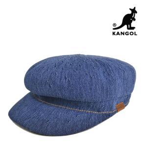 カンゴール・マリンキャップ・インディゴ・エンフィールド 春夏 キャスケット M L ブルー 青 ネイビー メンズ レディース 帽子 KANGOL|lion-do