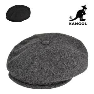 カンゴールキャスケット・ウールホーカー/KANGOL 秋冬 おしゃれ メンズ レディース 大きいサイズ ゆったり 黒 グレー 送料無料 帽子|lion-do