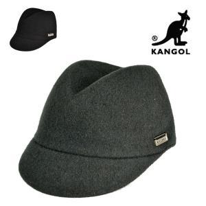 カンゴールキャップ・ウールコレット/KANGOL 秋冬 おしゃれ グリーン 黒 メンズ レディース 帽子|lion-do