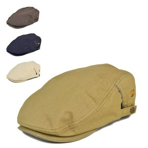 ゴールデンベア・コットンスラブハンチング 春夏 メンズ 紳士 鳥打帽 小さいサイズ 小さめ 帽子 lion-do