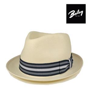 ベイリー・ホワイトストローハットTharp・ブリム5cm/Bailey 高級 春夏 ハット 白 大きいサイズ 送料無料 帽子|lion-do