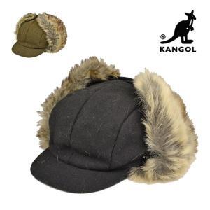 カンゴール・ウールアビエイターキャップ/KANGOL 冬 防寒 耳あて ファー 送料無料 メンズ レディース 大きいサイズ ゆったり 帽子|lion-do
