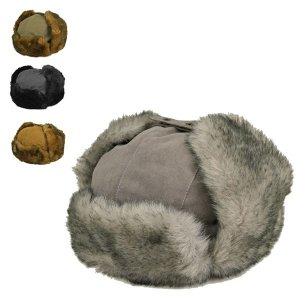 ピーチスキン・トラッパーハット 冬 耳当て付き 防寒 あたたかい メンズ レディース 帽子|lion-do