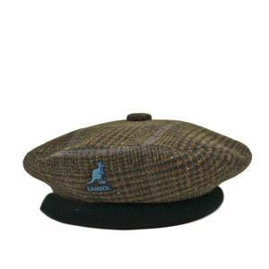 カンゴールチェックベロアベレー帽/KANGOL|lion-do
