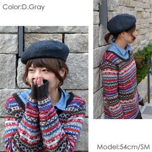 フラミンゴ バスクウール ベレー帽 メンズ レディース 秋冬 国産 日本製 lion-do 04