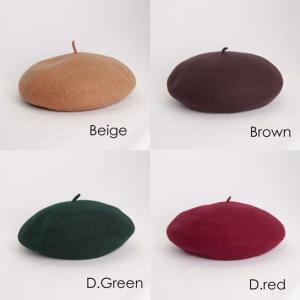 フラミンゴ バスクウール ベレー帽 メンズ レディース 秋冬 国産 日本製 lion-do 06