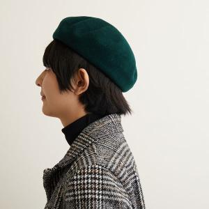 フラミンゴ バスクウール ベレー帽 メンズ レディース 秋冬 国産 日本製 lion-do 08