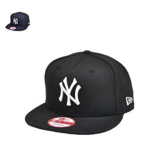 ニューエラ ナインフィフティー 9fifty newera スナップバック サイズ調整 フラットバイザー ネイビー 黒 メンズ レディース 帽子|lion-do