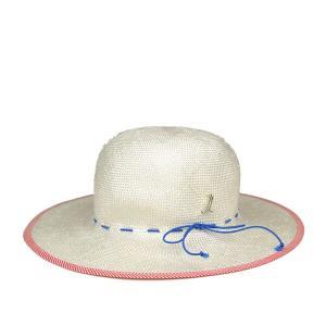 ミュールバウアー・レディースストローハット/Muhlbauer 夏 54cm 小さいサイズ 小さめ 女子 送料無料 白 ホワイト 帽子 lion-do