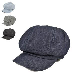 デニムキャスケット メンズ レディース 帽子|lion-do