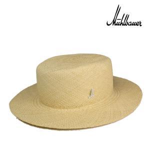 ミュールバウワー・ストローパナマキャノチエ・ナチュラル/MUHLBAUER 高級 ブランド 広つば パナマ 夏 カンカン帽|lion-do