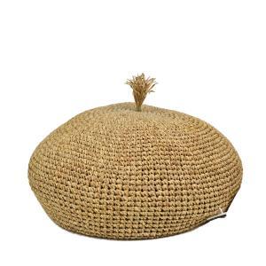 ミュールバウワー・ナチュラル・ペーパーベレー帽/MUHLBAUER 夏 ブランド 涼しい ベレー レディース 小さいサイズ 小さめ 送料無料 帽子|lion-do