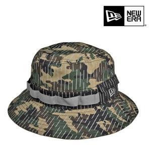 ニューエラ・アウトドア・アドベンチャーハット・ウォータープルーフ・レインカモ SMサイズ 撥水 防水 雨 送料無料 帽子|lion-do
