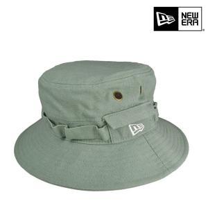 ニューエラ・アドベンチャー・ハット・カラーデニム・グリーン/NEW ERA 57cm 59cm パステルカラー アウトドア フェス 帽子|lion-do