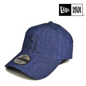 ニューエラ・9TWENTY・キャップ・インディゴデニム/NEW ERA ローキャップ カーブバイザー サイズ調整 メンズ レディース 帽子 lion-do