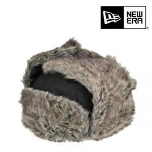 ニューエラ・トラッパー・耳当て付き・ウールツイル・ブラック/NEW ERA 防寒 大きいサイズ 飛行帽 メンズ レディース 送料無料 帽子|lion-do