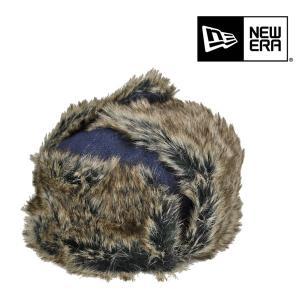 ニューエラ・トラッパー・耳当て付き・デニム・インディゴデニム/newera 冬 防寒 メンズ レディース 大きいサイズ 送料無料 帽子|lion-do