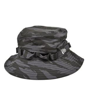 ニューエラ アドベンチャーハット タイガーストライプカモ/NEW ERA カモ柄 ミリタリー メンズ レディース 送料無料 アウトドア 帽子|lion-do