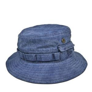 ニューエラ・ウォッシュドアドベンチャーハット・ネイビー/NEW ERA 春 夏 秋 冬 小さいサイズ 大きいサイズ 綿 日よけ メンズ レディース 帽子|lion-do