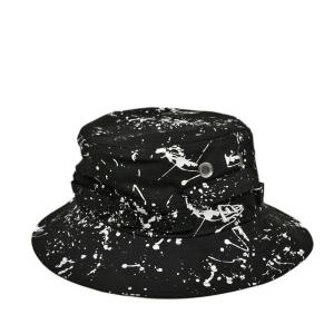 ニューエラ・スプラッシュペイント・アドベンチャーハット・ブラック 春 夏 秋 冬 日よけ アウトドア 帽子|lion-do