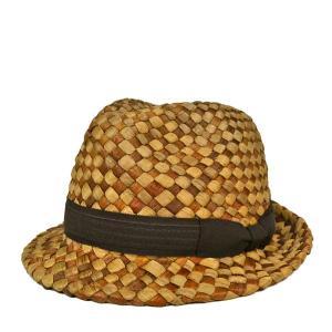 エチェンゴン・ミックスハット 麦わら ストローハット 春夏 メンズ レディース S M L 56cm 57cm 59cm 帽子|lion-do
