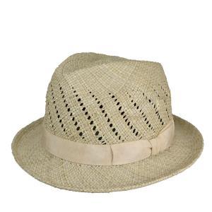 パンダン草中折れハット 春夏 メンズ レディース 白 天然素材 セール 帽子|lion-do