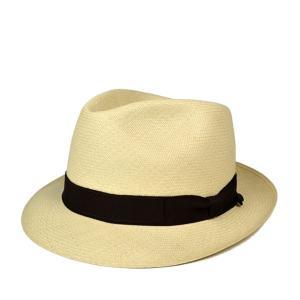 アジロパナマハット 帽子 メンズ 夏用 春夏 紳士 高級 59cm ナチュラル lion-do