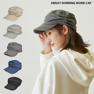 スウェット シャーリング ワークキャップ 帽子 メンズ レディース|lion-do