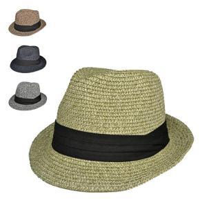 シンプル春夏ミックス・ペーパーハット 麦わら帽子 メンズ レディース 折りたたみ 中折れ麦わら帽子 大きめ おしゃれ|lion-do