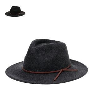 ボッシュ・トマジハット 秋冬 おしゃれ 広つば 黒 グレー XL 大きいサイズ サイズ調整 メンズ レディース 帽子 lion-do